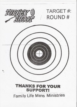 image regarding Turkey Shoot Targets Printable titled Concentrate Gallery